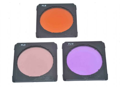Kood A Size FLB, FLD, FLW Filter set Compatible with Cokin A Size Holders